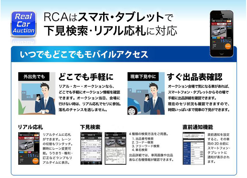 RealCarAuction案内
